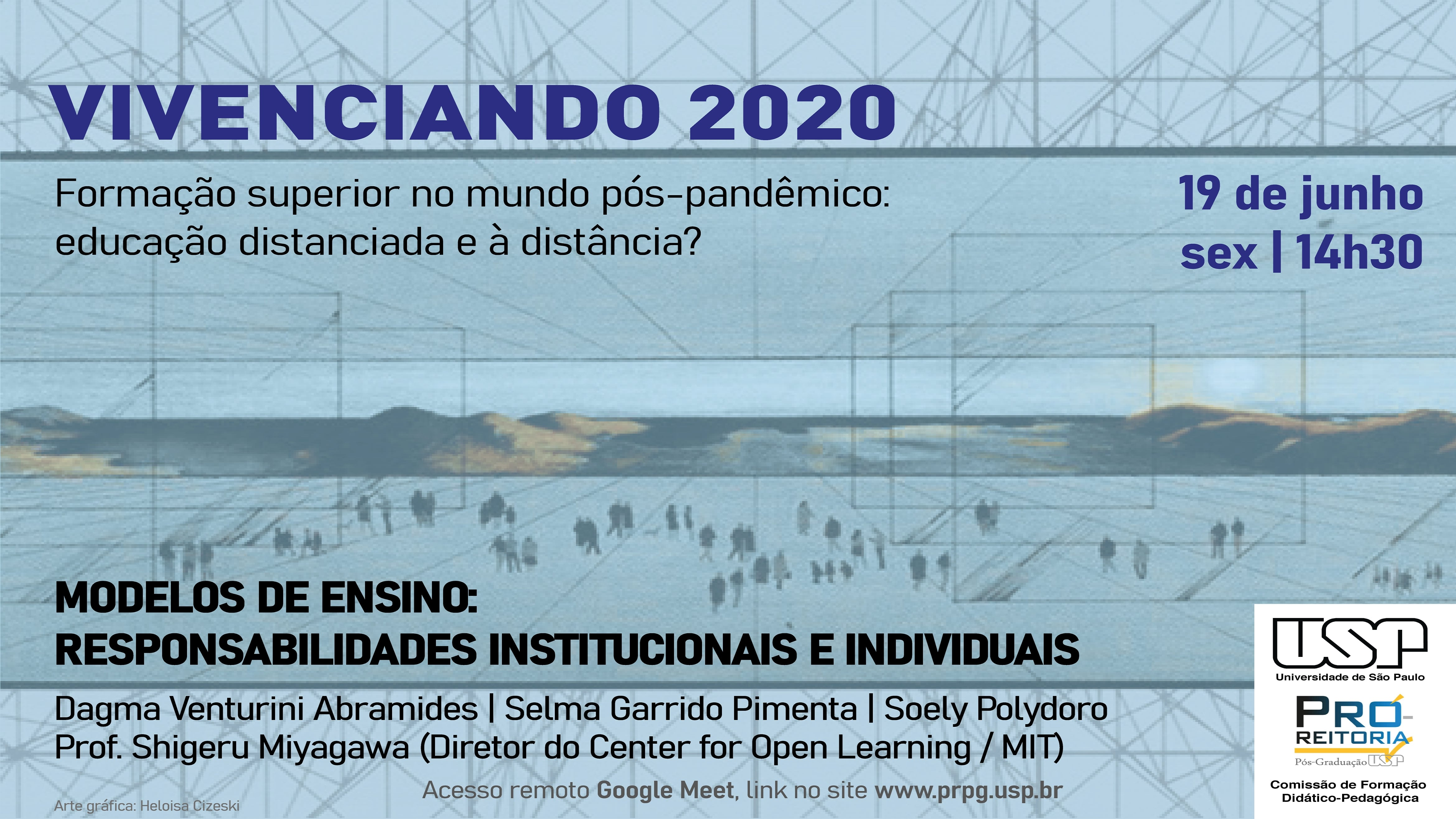 Vivenciando 2020 - Modelos de ensino: responsabilidades institucionais e individuais