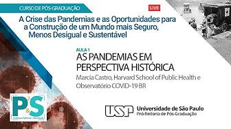 DPG5005 - Aula 1: As Pandemias em Perspectiva Histórica